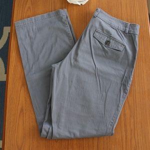 Dockers Ladies Gray Pants Size 8M